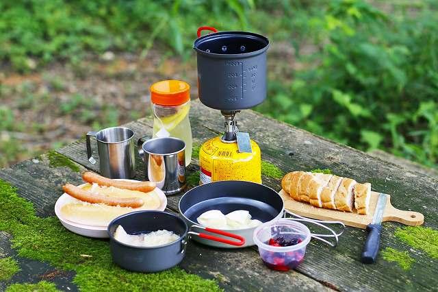 ソロキャンプ調理器具