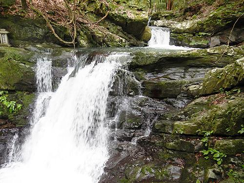 犬鳴山 渓流 ハイキングコース 両界の滝