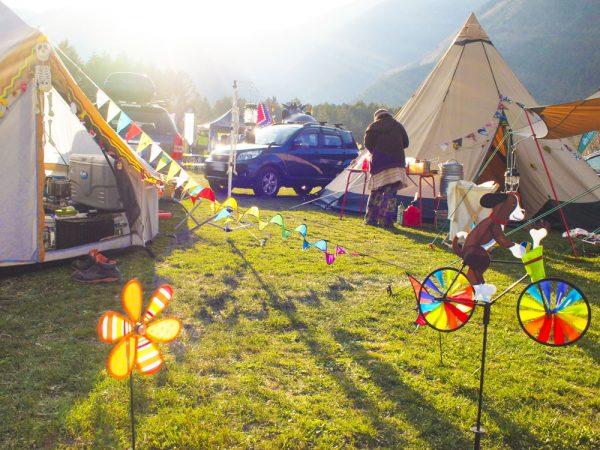 キャンプマナーキャンプサイト
