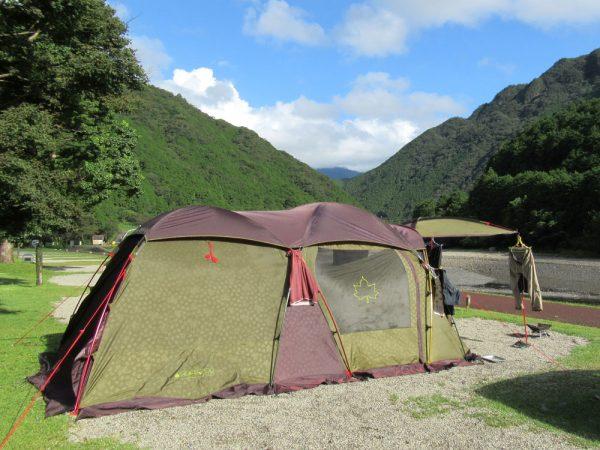 暴風雨キャンプ2ルームテント