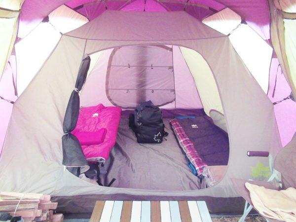 冬キャンプテント