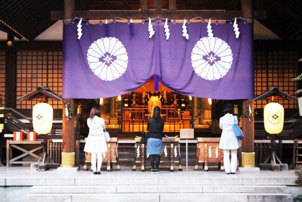神社お参りの仕方参拝