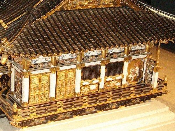 日光東照宮本殿模型