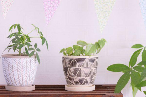 1植木鉢プランター