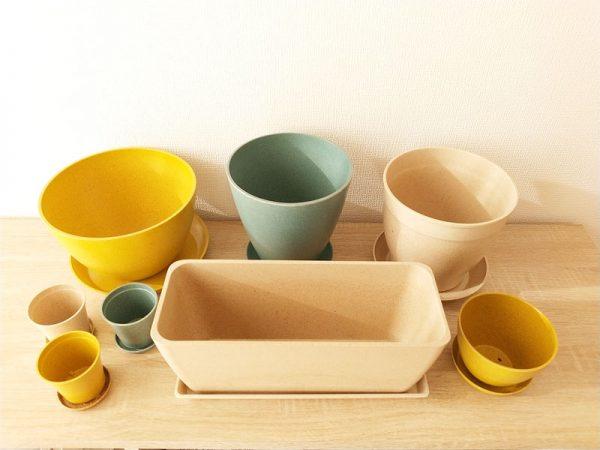 9アースカラーの鉢